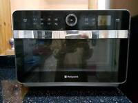 Hotpoint microwave.