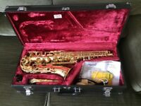 ALTO YAS-32 SAXOPHONE YAMAHA : INTERMEDIATE/SEMI-PRO MODEL : a Lovely Sax : GREAT CONDITION + Extras