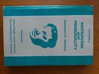 MOTIVATION AND PERSONALITY Abraham H. Maslov
