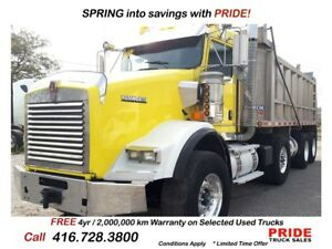 2013 Kenworth T800 VERY CLEANLOADED