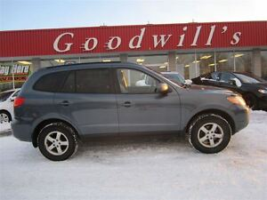2009 Hyundai Santa Fe GLS! SUNROOF! LEATHER SEATS!