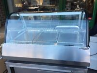 COMMERCIAL CATERING NEW HOT DISPLAY FOOD WARMER CABINET KEBAB CHICKEN PIZZA RESTAURANT KITCHEN