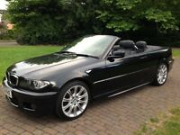 2006 (56) 318i M Sport convertible Manual in brilliant condition comes with hardtop