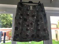 Brand New Boden Linen Skirt Size UK 14 Regular