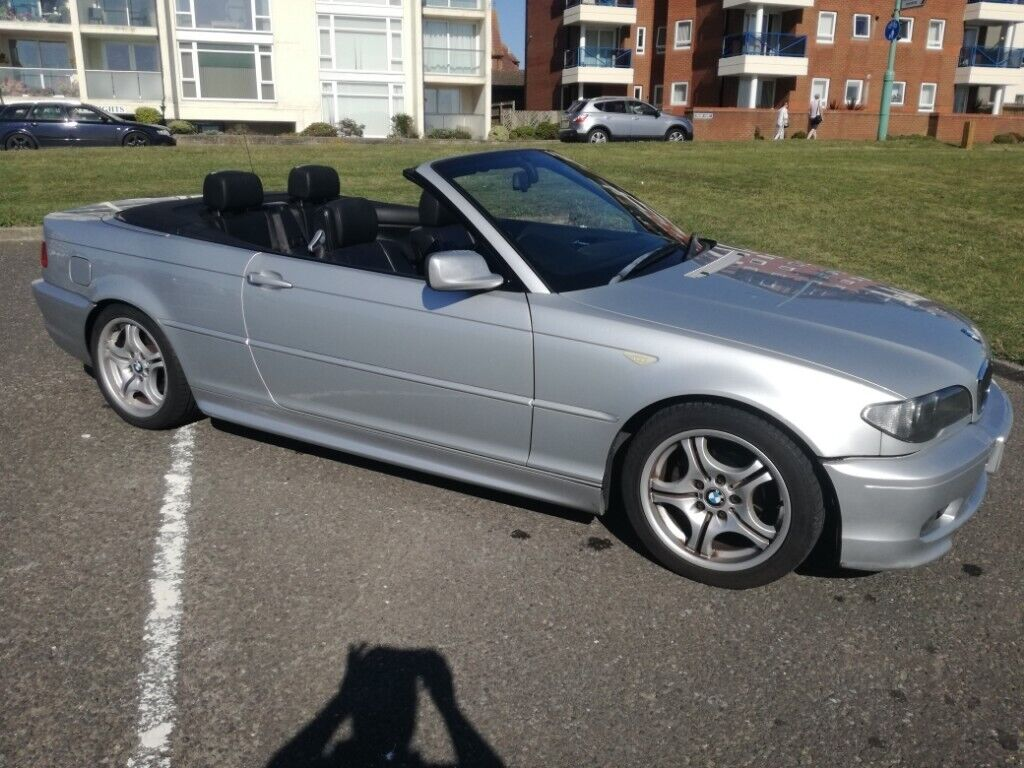 2006 BMW E46 318Ci Convertible Genuine M Sport Long MOT Service History  **SPARES OR REPAIR** | in Lee-on-the-Solent, Hampshire | Gumtree