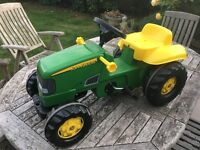 John Deere Rolly kids Tractor and Trailer