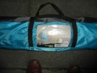 Yellowstone Ascent 4 , 4 man tent. Brand new, camp bed, inflatable matress.