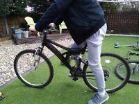 Raleigh mission activ dual suspension bike