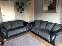 2 & 3 seater sofa - 1 year old