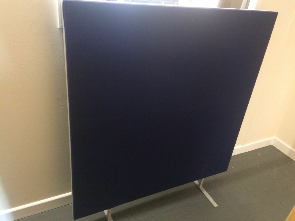Floor Standing Office Divider Partition Screen Pin