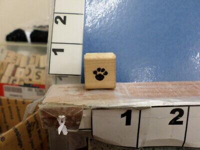 paw print dog cat pet ctmh rubber stamp - Paw Print Stamp