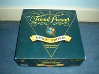 Vintage Parker 1995 Trivial Pursuit Genus Edition Board Game
