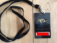U2 Joshua Tree Ticket,Dublin 22 July,PITCH STANDING 2 closest to stage! collectors lanyard