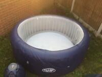 Bestway New York Layz Spa Hot Tub Jacuzzi