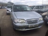 2004 2.0 Diesel Hyundai Trajet. Breaking for parts only. Postage Nationwide