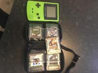 Gameboy colour green
