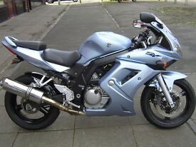 suzuki sv650 sk6. low mileage (9926). immaculate, unmarked.