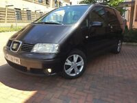 2008 seat alhambra lovely familiy mpv 2.0 tdi 6 speed manual £ 1300 ono