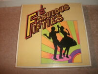"READERS DIGEST ""THE FABULOUS FIFTIES"" 10 X VINYL LP'S -1977- BOX SET."