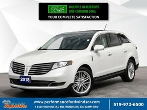 2018 Lincoln MKT Elite ***CAP UNIT, NAV, AWD, 3rd row seating***