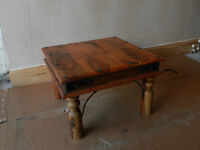 Pair of Indian Jali small coffee tables