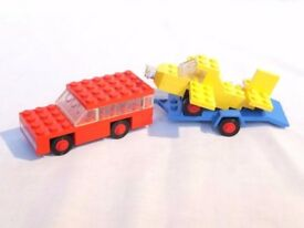 LEGO 660 – Vintage Car with Plane Transporter