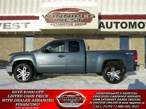 2010 GMC Sierra 1500 Nevada Edition 4x4, Local Trade, Low Kms, E