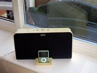 Gear4 HouseParty III home stereo speaker system with FM radio for iPod