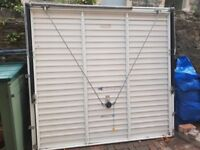 GARAGE DOOR - garador make. Excellent condition. Dimensions are on the photographs.