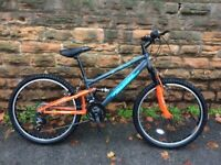 Factory SOILED NEW EX Display Falcon Neutron Boys 24 Inch FS Mountain Bike RRP £265