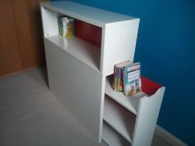 Ikea headboard, childrens with pull out drawers