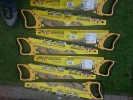 roughneck hand saws 20ins