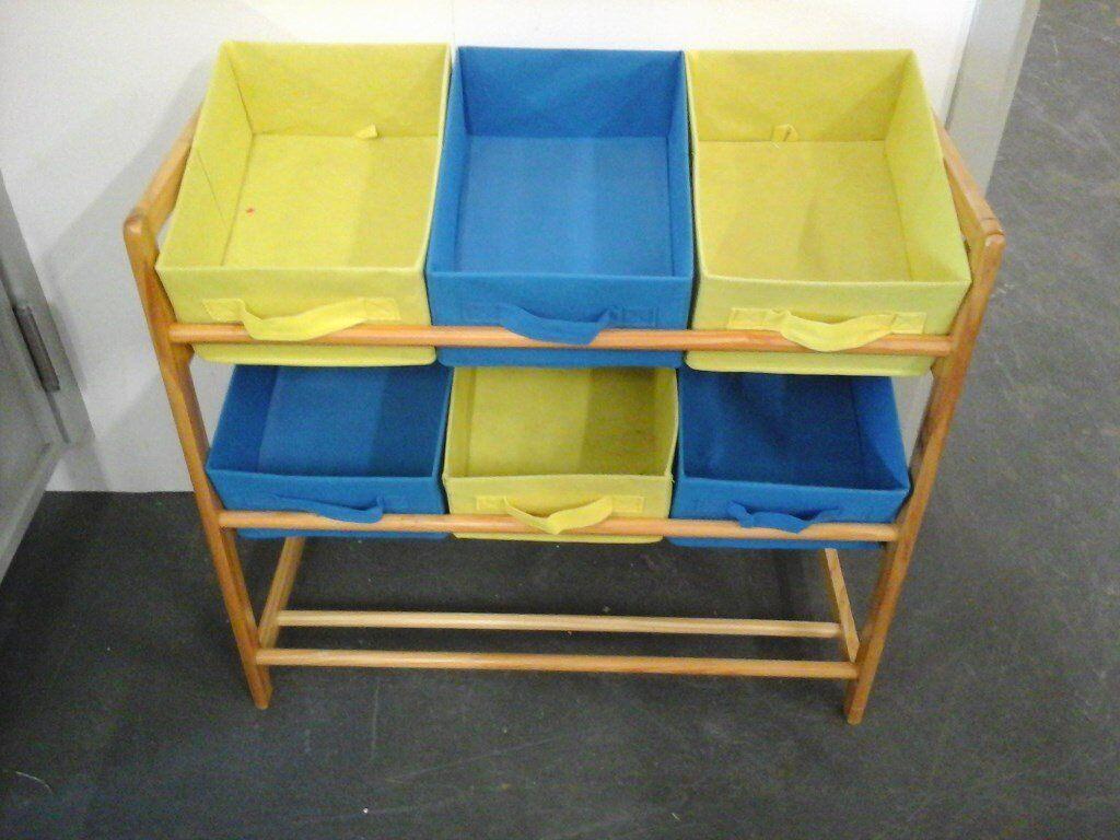 Childs Colourful Storage Unit