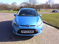 FORD FIESTA 1.3 ZETEC 2009 ONLY 38,000 MILES
