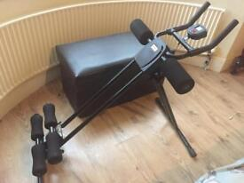 5 minute ab exercise machine/roller