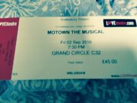 2 tickets to London's Motown the Musical