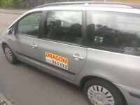 Cardiff Taxi and Driver to hire - 6 Seats - Stag or Hen partys coverered.