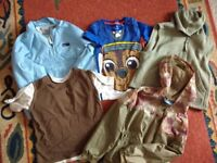 5-6 years old job lot clothes