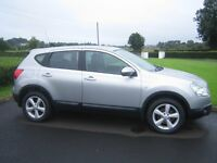 2008 Nissan Qashqai, 2.0L DCI, 6 speed,full service history, one owner from new, great condition