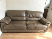 FREE furniture village Caramel colour 2-3 seater sofa bed need gone ASAP Brentford tw8 collect only