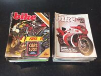 Huge pile of Bike magazines dating from the late 70s and early 80s - over 50 magazines