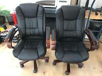 Leather chair Office executive Chair