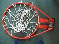 Huffy Sports Basketball hoop and net