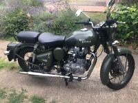 Royal Enfield bullet classic motorcycle 2013