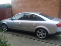 Audi A6 V5 turbo spares or repair 150 Price to sell