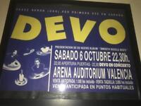 Deco concert poster
