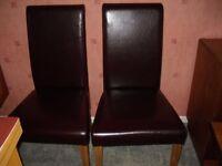 Six Dinning Chairs