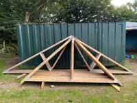 Timber Roof Trusses x 13