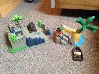 Pirate & Fort Playmobile Set