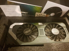 NVIDIA Palit Super JetStream Geforce GTX 1080ti 11GB GDDR5X VR Ready 3 MONTHS OLD